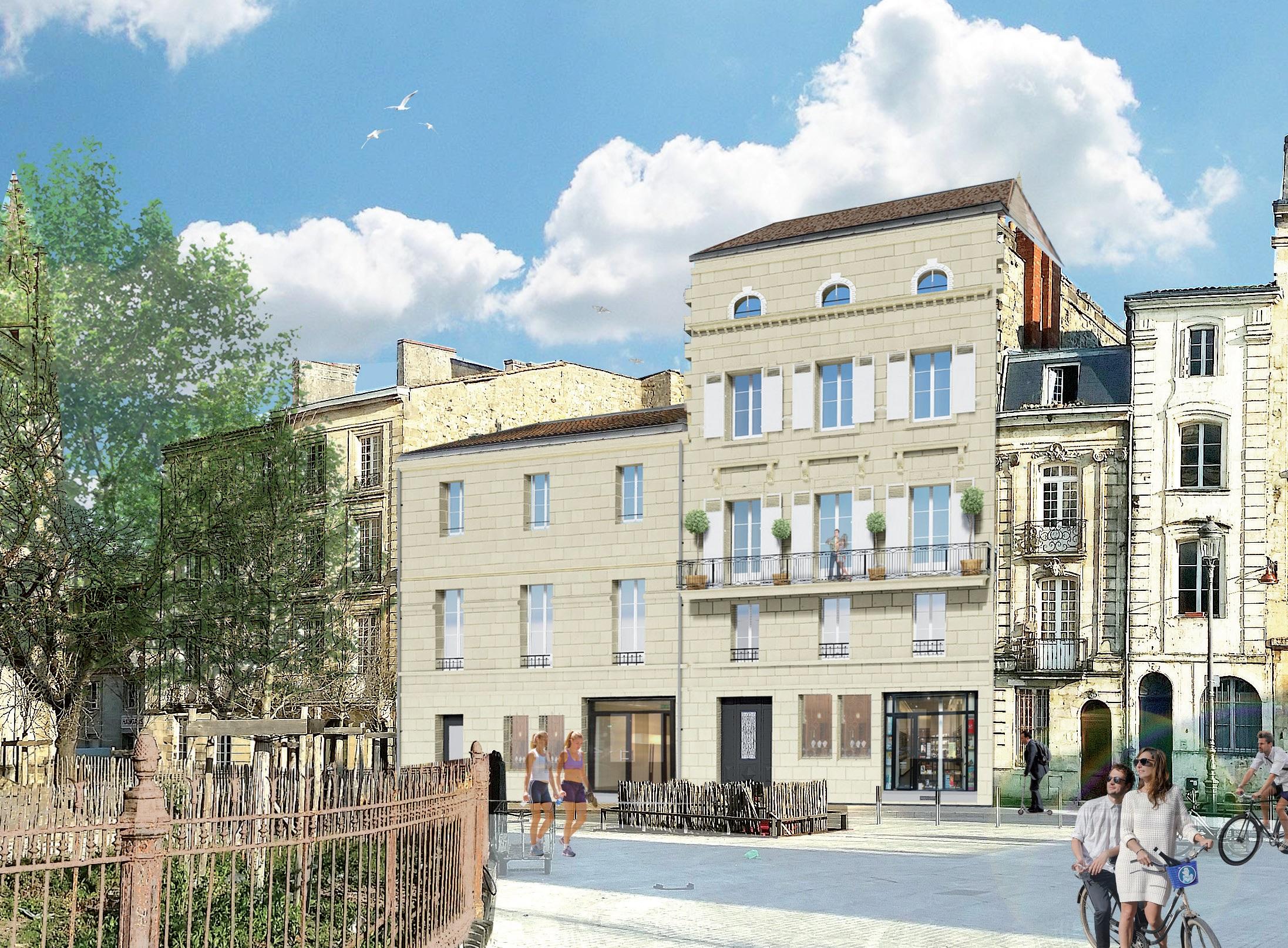 Malraux Bordeaux rue Gensan