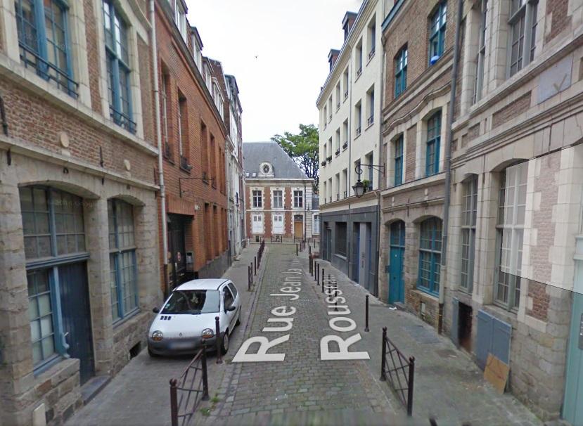 Lille rue Jean Jacques Rousseau