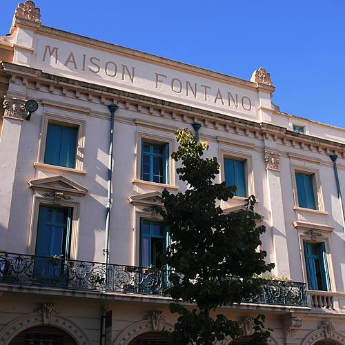Perpignan, Maison Fontano place de la république