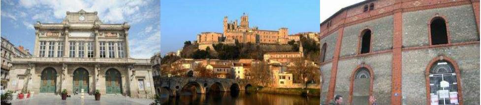 La ville de Béziers
