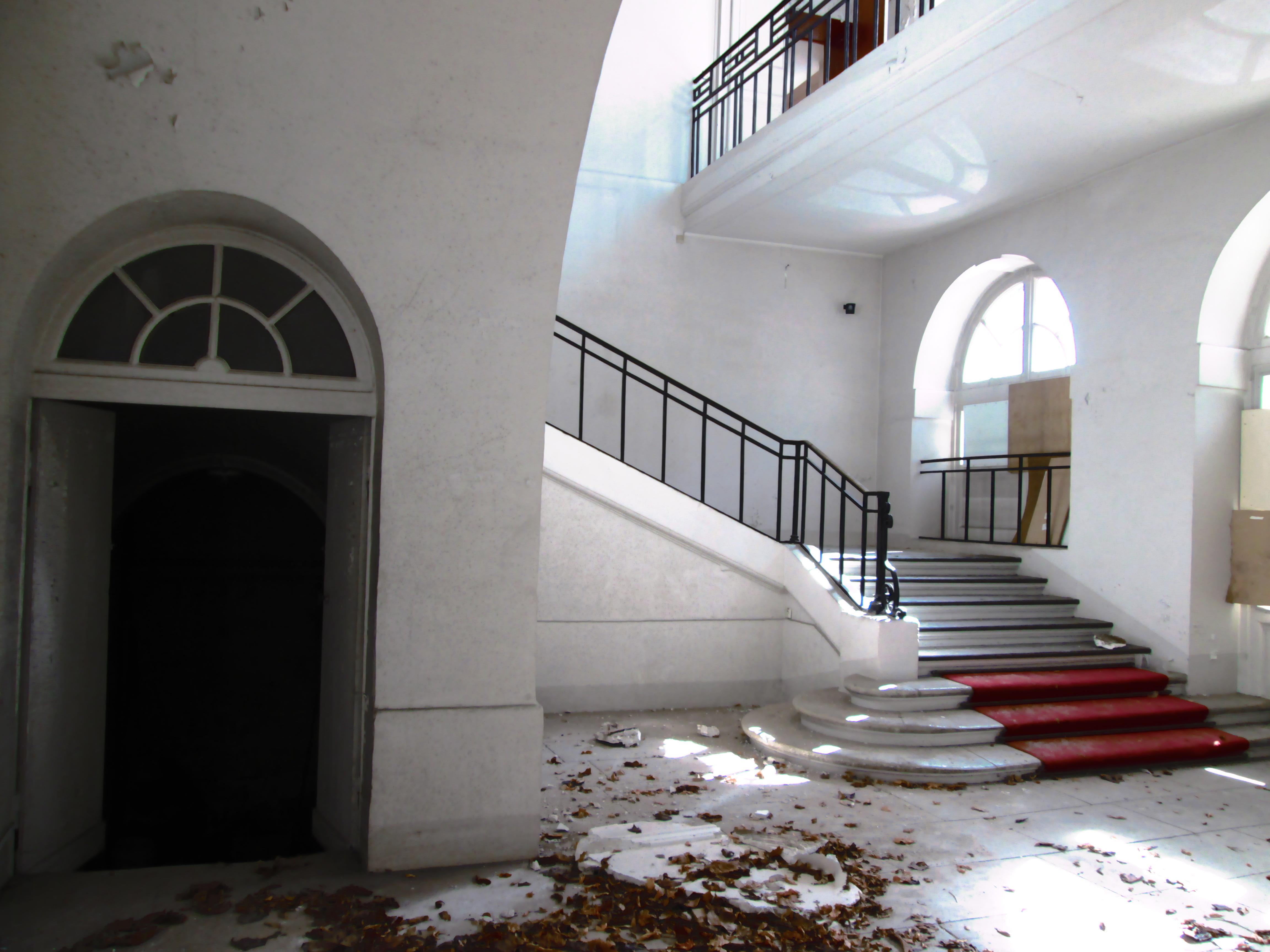 Escaliers Malraux Versailles 2015