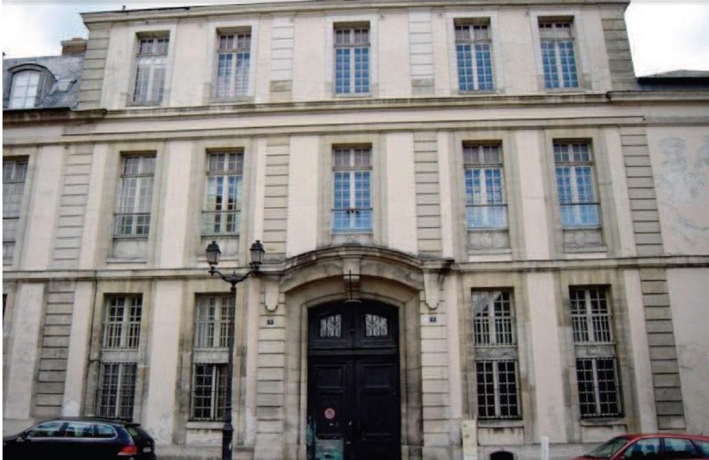 Façade Malraux Versailles Indépendance Américaine