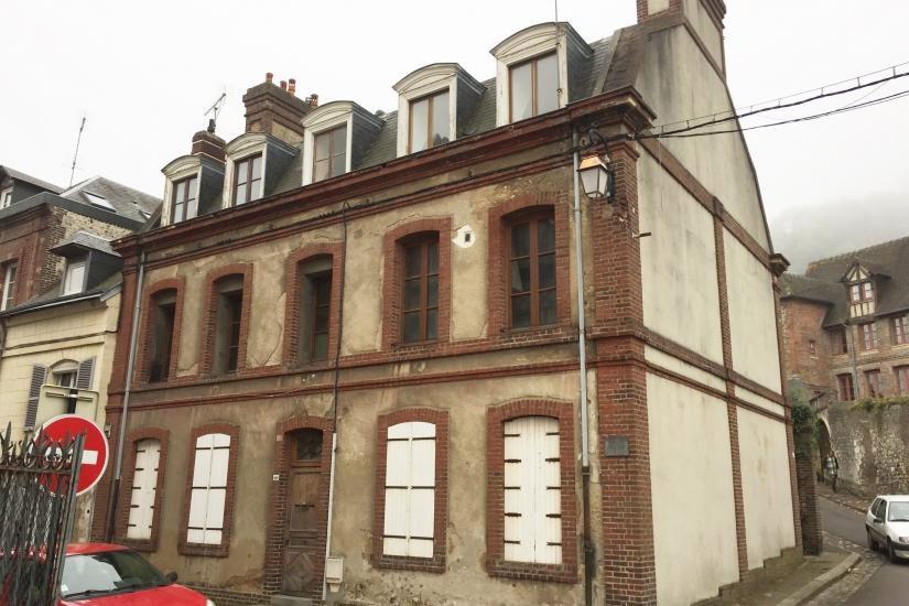 rue haute Honfleur